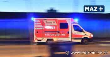 Betrunkener Radfahrer stürzt in Kremmen - Märkische Allgemeine Zeitung