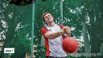 Leichtathletik - Das Alpnacher Talent Lars Wolfisberg sagt: «Hammerwurf ist reine Physik» - Luzerner Zeitung
