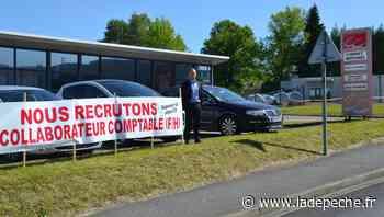 Lannemezan: Pour recruter ses collaborateurs, le patron déploie une banderole - LaDepeche.fr