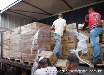 Fundo Social de Solidariedade de Cravinhos recebe 680 cestas básicas - A Tribuna Regional