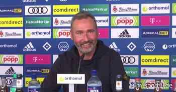 Tim Walter über seinen neuen Job als Trainer des Hamburger SV - SPORT1