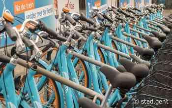 Straks ook Blue-bikes aan stations van Drongen, Merelbeke en Wondelgem - Gent