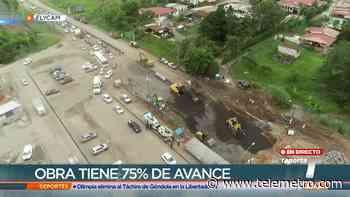 Trabajos en la vía Panamericana a la altura de Arraiján avanzan a buen ritmo - Telemetro