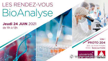 Les Rendez-vous BioAnalyse PROTO204 jeudi 24 juin 2021 - Unidivers