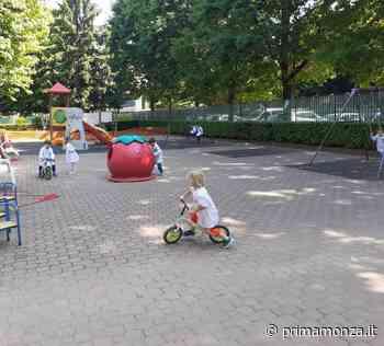 Giussano, nuovi giochi e aree verdi all'asilo Aliprandi - Prima Monza