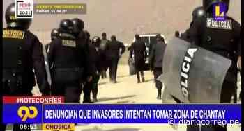 Chosica: Presuntos traficantes de terrenos ataron a un vigilante (VIDEO) - Diario Correo
