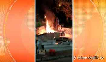 Recomendaciones para evitar incendios en el santuario de la Aguacatala - Telemedellín