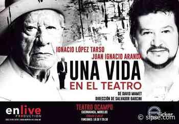 """Ignacio López Tarso festeja 70 años de trayectoria con la obra """"Una vida en el teatro"""" - sipse.com"""