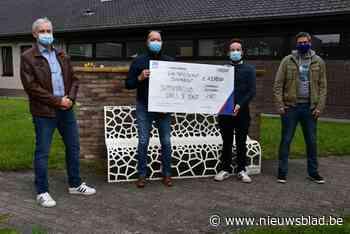 Supportersclub Dries De Bondt schenkt 1250 euro