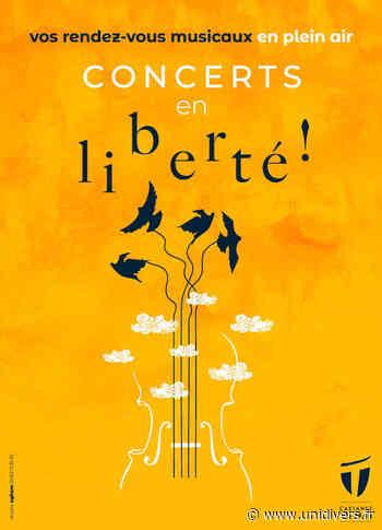 Concerts en liberté ! Esplanade Jacques Brel Castanet-Tolosan jeudi 9 septembre 2021 - Unidivers