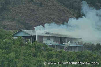 Seven displaced from Osoyoos house fire – Summerland Review - Summerland Review