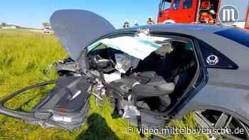 Verletzte nach schwerem Unfall auf der B16 bei Roding - Mittelbayerische