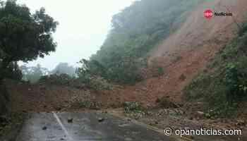 Vía Suaza-Florencia sigue cerrada tras avalancha en el sector del Alto Brasil - Opanoticias