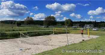 Beachplatz in Rodenbach fit für die neue Saison gemacht - Blick aktuell