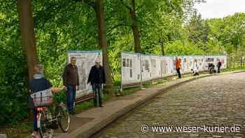 Bauzäune erzählen Geschichte: Ausstellung in Worpswede zu Findorff - WESER-KURIER - WESER-KURIER