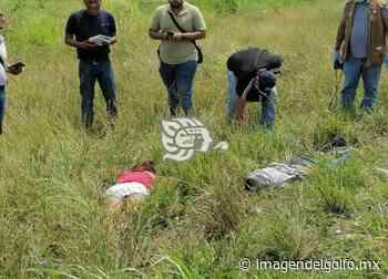 Localizan asesinados a mujer y hombre en la Cosolea-Nuevo Teapa - Imagen del Golfo