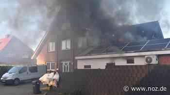 Großes Haus brennt in Wietmarschen-Lohne - noz.de - Neue Osnabrücker Zeitung