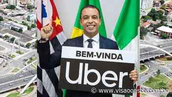 Rogério Lins anuncia sede da Uber em Osasco - Visão Oeste