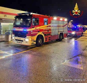 Numana, incendio di un locale in autostrada presso un punto di ristoro - Vera TV