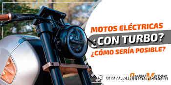 ¿Motos eléctricas con turbo? ¿Cómo sería posible? - PubliMotos