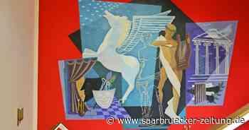 Wandgemälde im Schlosstheater Ottweiler fasziniert noch heute - Saarbrücker Zeitung
