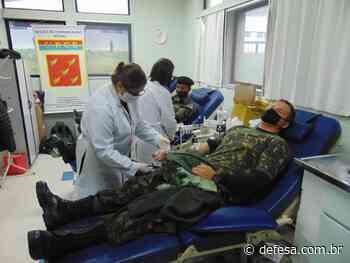 Militares doam sangue em Alegrete (RS) #DoeSangue - Defesa - Agência de Notícias