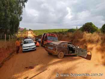 Dois homens ficam feridos após acidente de carro em Alfenas, no Sul de Minas - Hoje em Dia