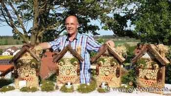 Wohungsbauunternehmen in Miniatur: Ebinger Horst Koller baut und vertreibt Insektenhotels - ovb-online.de