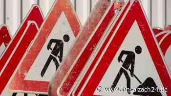 Innkanalbrücke bei Waldkraiburg wegen Bauarbeiten für den Verkehr gesperrt - innsalzach24.de