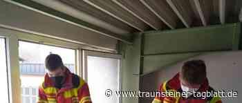 Traunstein/Trostberg: In Traunstein und Trostberg fanden Grundlehrgänge für Feuerwehrler statt - Traunsteiner Tagblatt