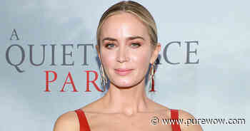 Emily Blunt Details Her 'Awful' First Kiss on 'Jimmy Kimmel Live!' - PureWow