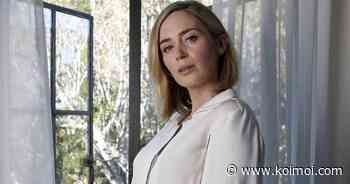 """Emily Blunt Calls Her First Kiss A Horror Show: """"I Just Remember Surreptitiously Wiping My Mouth Afterwards"""" - Koimoi"""