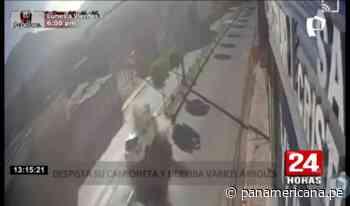 Moquegua: camioneta se despista y ocupantes se dan a la fuga | Panamericana TV - Panamericana Televisión