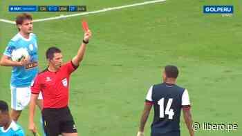 Sporting Cristal tiene ventaja: Kevin Ruiz, volante de la San Martin, es expulsado en la final - Libero.pe