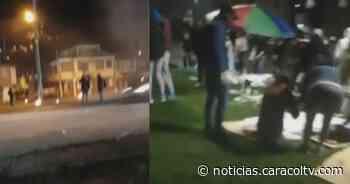 En Facatativá y Gachancipá las manifestaciones no paran: este lunes también hubo bloqueos - Noticias Caracol