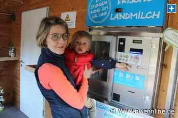 Milchtankstelle in Wiefelstede: Frische Milch zu jeder Tages- und Nachtzeit - Nordwest-Zeitung
