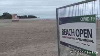 Cobourg's Victoria Beach partially closed, pop-up eateries coming soon | Watch News Videos Online - Globalnews.ca