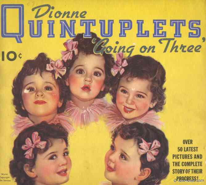 Dionne Quintuplets – treated as freaks