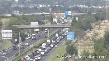 Un accidente provoca colas kilométricas en la autopista Inca-Palma - mallorcadiario.com