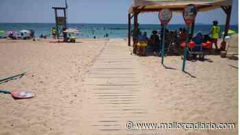 Palma se abona a las playas seguras con la habilitación de los puntos de baño asistido - mallorcadiario.com