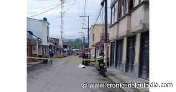 Ciudadano murió en vía pública de Circasia; investigan las causas - La Cronica del Quindio