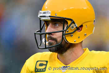 Packers apparently plan to call Aaron Rodgers' bluff