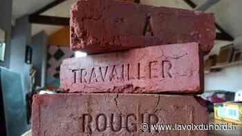 Des briques de mots, une intervention artistique à Fresnes-sur-Escaut - La Voix du Nord