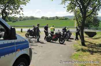 POL-HOL: Erneut Motorradkontrollen im Landkreis Holzminden; 153 km/h bei erlaubten 70 km/h - Presseportal.de