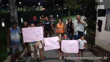 Há um mês de espera por pontes de madeira, moradores do Bariri protestam para cobrar soluções da Prefeitura de Manaus (ver vídeo) - radar amazonico
