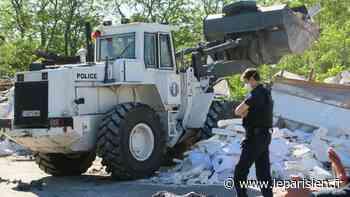 Villejuif : le bidonville de la décharge géante des Hautes-Bruyères a été évacué - Le Parisien