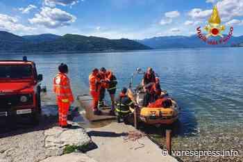 Ispra: i vigili del fuoco salvano un anziano caduto nel lago - varesepress.info