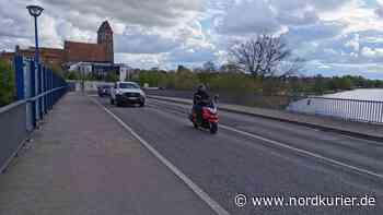 An der Peenebrücke wird wieder gebaut - Nordkurier