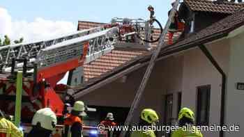 Schwelbrand in Bergheim - Augsburger Allgemeine