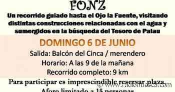 En busca del tesoro del Palau, ruta del Agua organizada por la Oficina de Turismo de Fonz - Radio Huesca